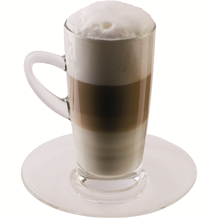 scanpart latte macchiato kop en schotel bestel bij handyman. Black Bedroom Furniture Sets. Home Design Ideas