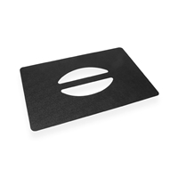 Handplate for MediCoolTainer 300 mm x 200 mm Noir