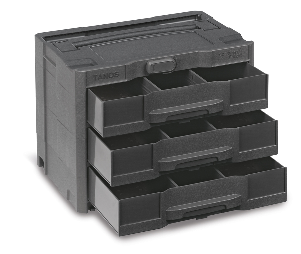 Systainer T-Loc SYS-Sort IV / 3 296 mm x 396 mm Anthracite