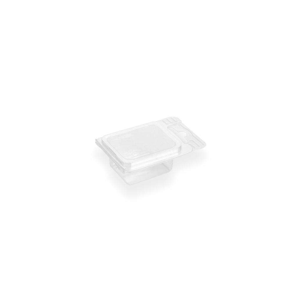 Euroblister 45 mm x 55 mm Transparent