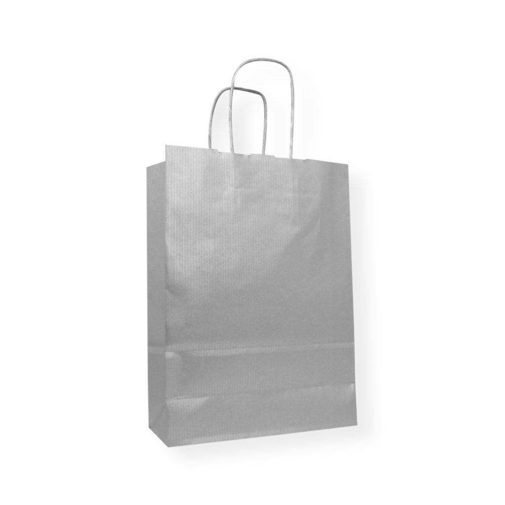 Paper Carrier bag 320 mm x 425 mm Silver
