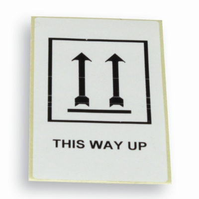 Label 'This way up' 60 mm x 100 mm Vit