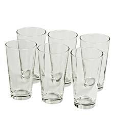 DALLAS Verres hauts set de 6