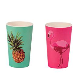 TROPICAL Gobelet 2 motifs