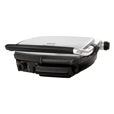 Sencor SBG400 zwart-RVS Contact grill