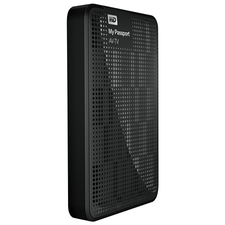 Western Digital My Passport AV-TV 1TB zwart Externe Harde Schijf