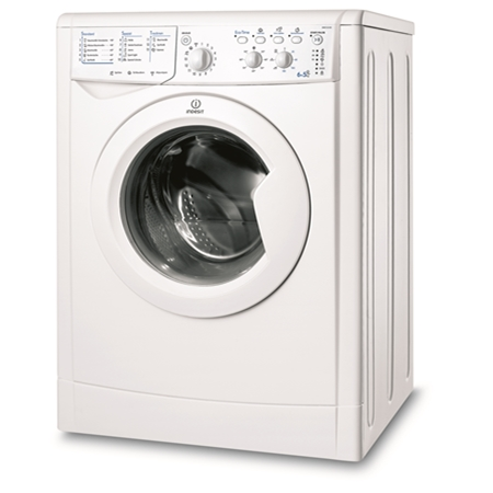 Indesit IWDC 6145 wit Was-droogcombinatie