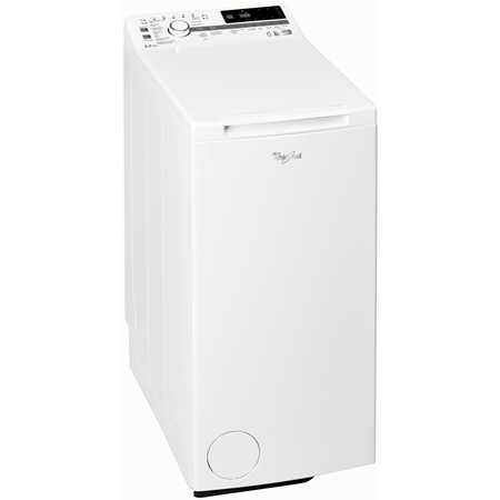 Whirlpool vrijstaande bovenlader wasmachine: 6,5 kg TDLR 65242BS BX/N online kopen