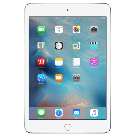 Apple iPad mini 4 Wi-Fi 128GB zilver