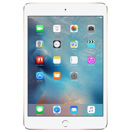 iPad mini 4 Wifi + 4G 32GB Goud