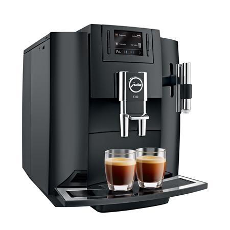 Jura E80 Piano Black Espressomachine