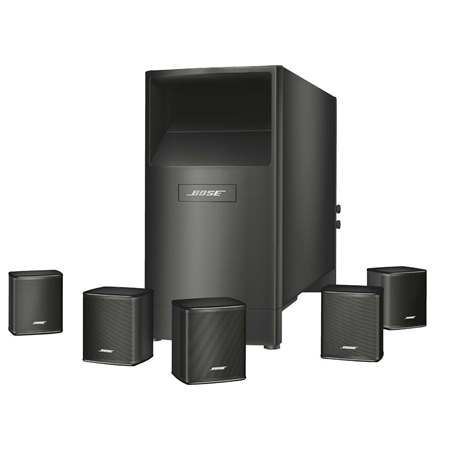 Bose Acoustimass 6 series V zwart