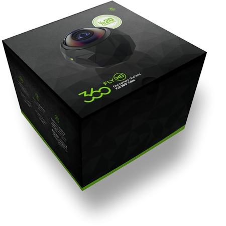 360Fly HD Camera zwart