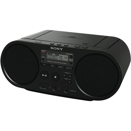 Sony ZS-PS50B zwart