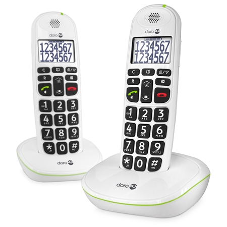 Doro Phone Easy 110 DUO WHITE