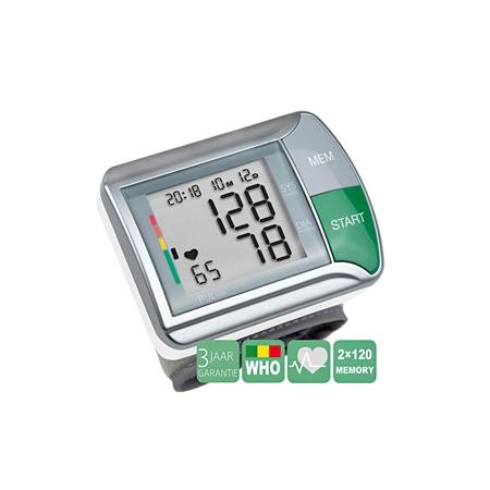 Medisana HGN polsbloeddrukmeter zilver Bloeddrukmeter