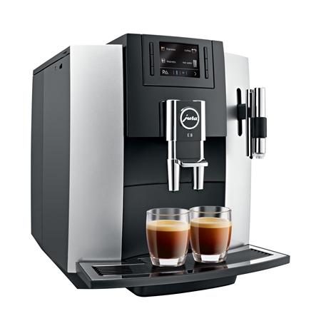 Jura E8 Platina Espressomachine