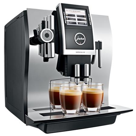 Jura IMPRESSA Z9 One Touch TFT Chroom Espressomachine