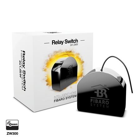 Fibaro Relay Switch 2x1.5W