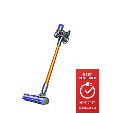 Dyson V8 Absolute Gelb-Nickel Steelstofzuiger