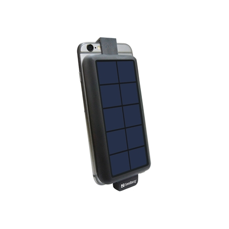 Sandberg Solar PowerBank 3000 MicroUSB zwart