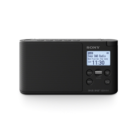 Sony XDR-S41 zwart
