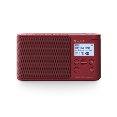 Sony XDR-S41 rood