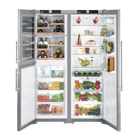 Liebherr SBSes 7165-22 Amerikaanse Side by Side koelkast