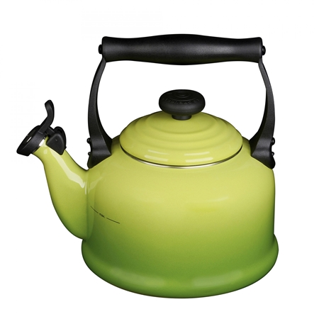 Le Creuset Fluitketel Tradition (2.1 liter) Palm