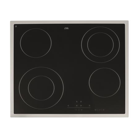 Etna A268RVS  Glaskeramische kookplaat Solo RVS Keramische Kookplaat