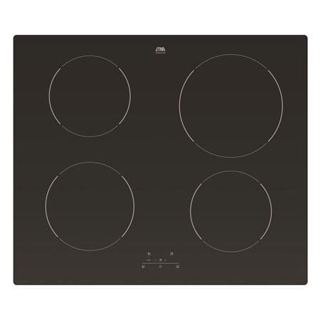 Etna T305ZT zwart Inductie Kookplaat