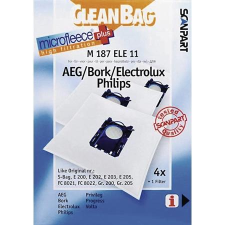 Menz + Könecke 2682241187 M 187 Ele 11 Cleanbag S Bag Stofzuiger Accessoire