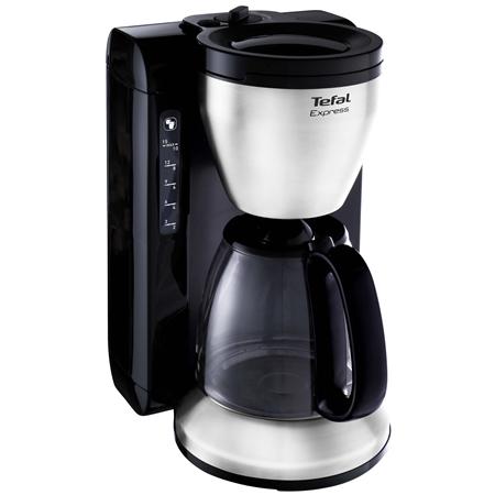 Tefal CM3908 New Express Glas RVS-mat-zwart Koffiezetapparaat