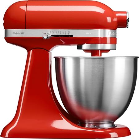 Artisan Mini Mixer-Keukenrobot 5KSM3311XEHT Tabasco rood