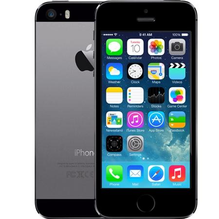 Apple iPhone 5s 16GB zwart Refurbished A