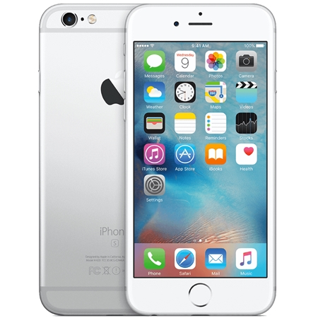 Apple iPhone 6S 16GB zilver Refurbished (A)