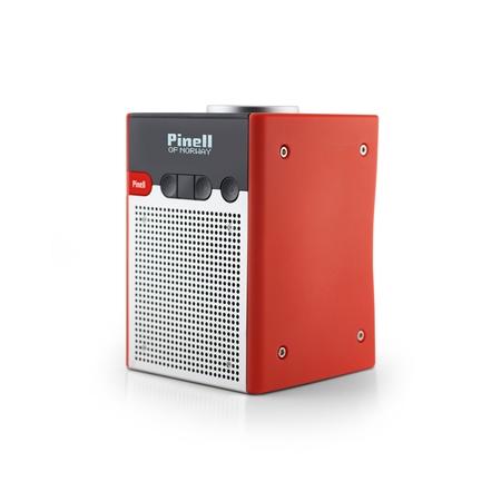 Pinell Go DAB+ radio rood