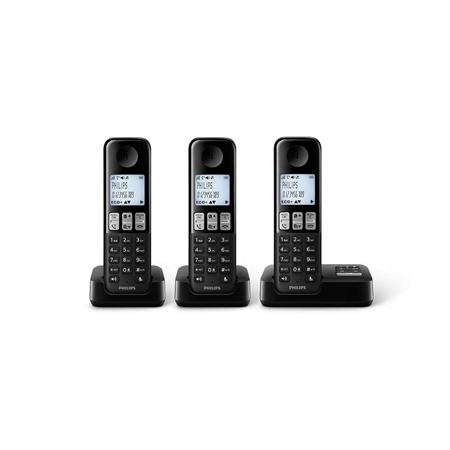 Philips D2353B/22 zwart
