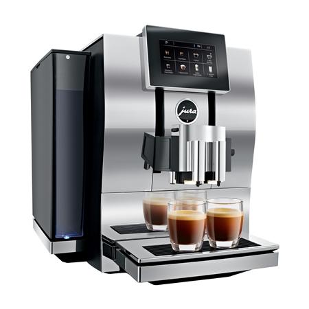 Jura Z8 Aluminium Chroom Espressomachine