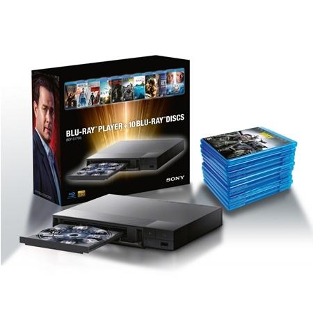 Sony BDP-S1700 (inclusief 10 Blu-rays)