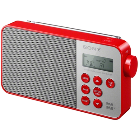 Sony XDR-S 40 DBPR rood