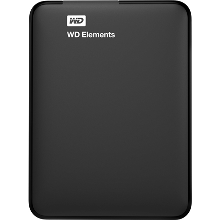 Western Digital Elements Portable 1TB zwart Externe Harde Schijf