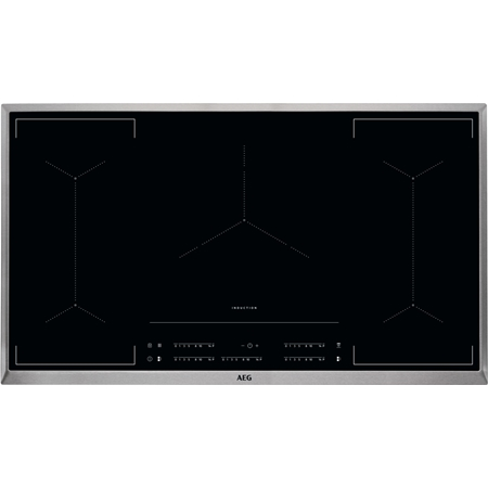 AEG IKE95454XB MultipleBridge Hob2Hood 90 cm inductie kookplaat online kopen