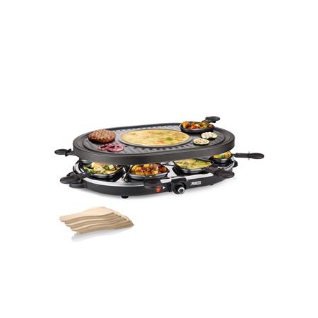 Dagaanbieding - Princess Raclette 8 Oval Grill Party dagelijkse koopjes