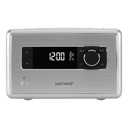 Sonoro SO-110S zilver wekkerradio