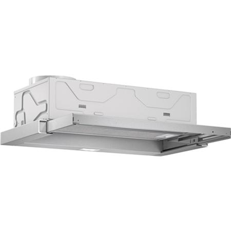 Bosch DFL063W51 zilver-metallic Vlakscherm Afzuigkap