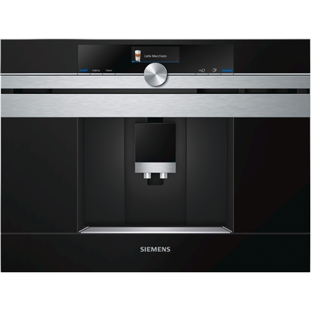 Siemens CT636LES6 RVS Inbouw Koffiemachine