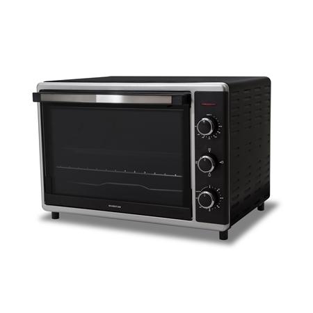 Inventum OV525CS zwart-zilver Grill Oven