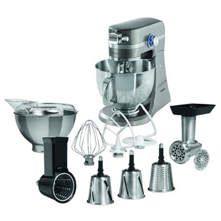 AEG KM4700 zilver Keukenmachine