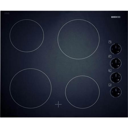 Beko  HIC 64100 donkerrood Keramische Kookplaat